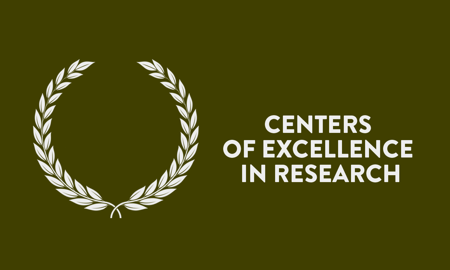 Centers of Excellence in Research