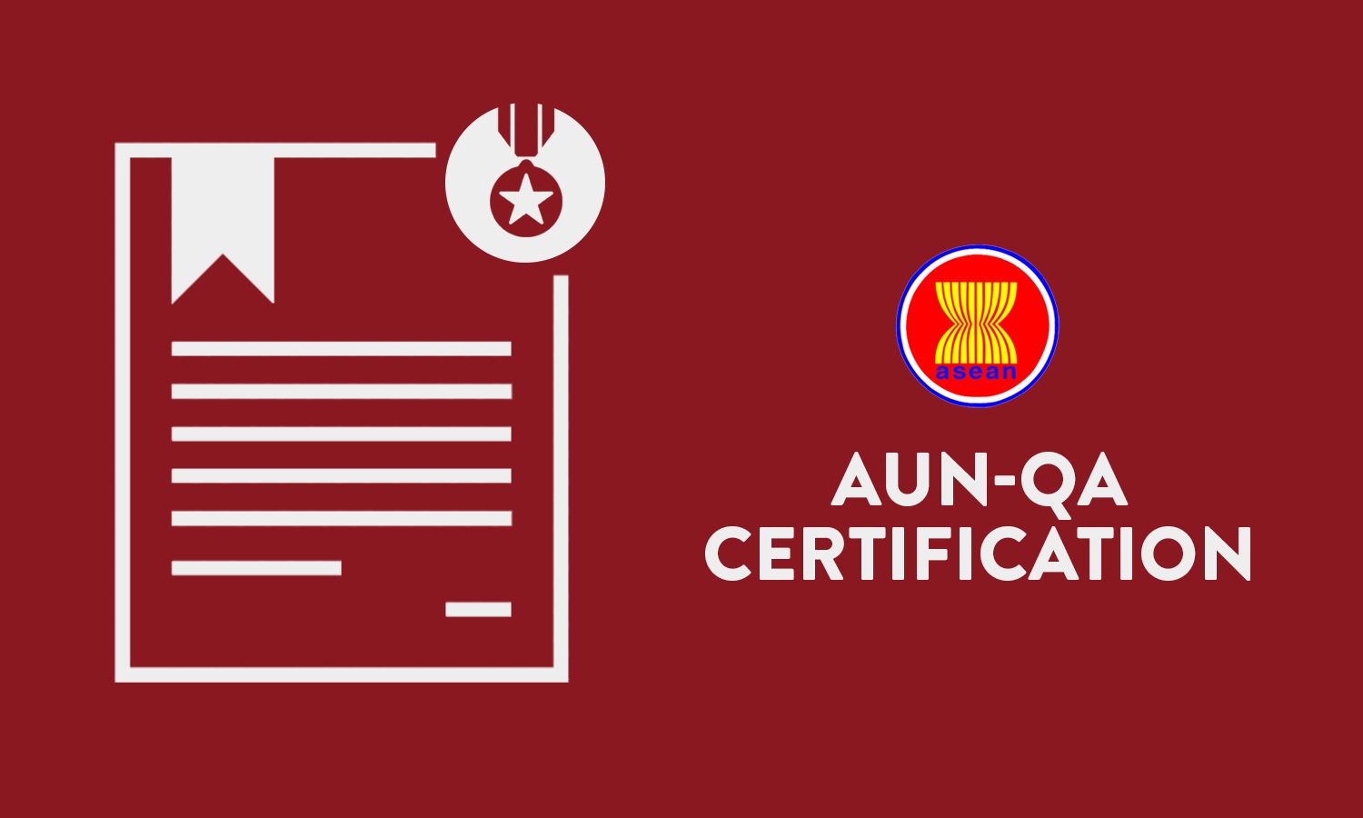 ASEAN University Network-Quality Assurance Certificate