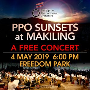 PPO Sunsets at Makiling: A FREE Concert @ UPLB Freedom Park