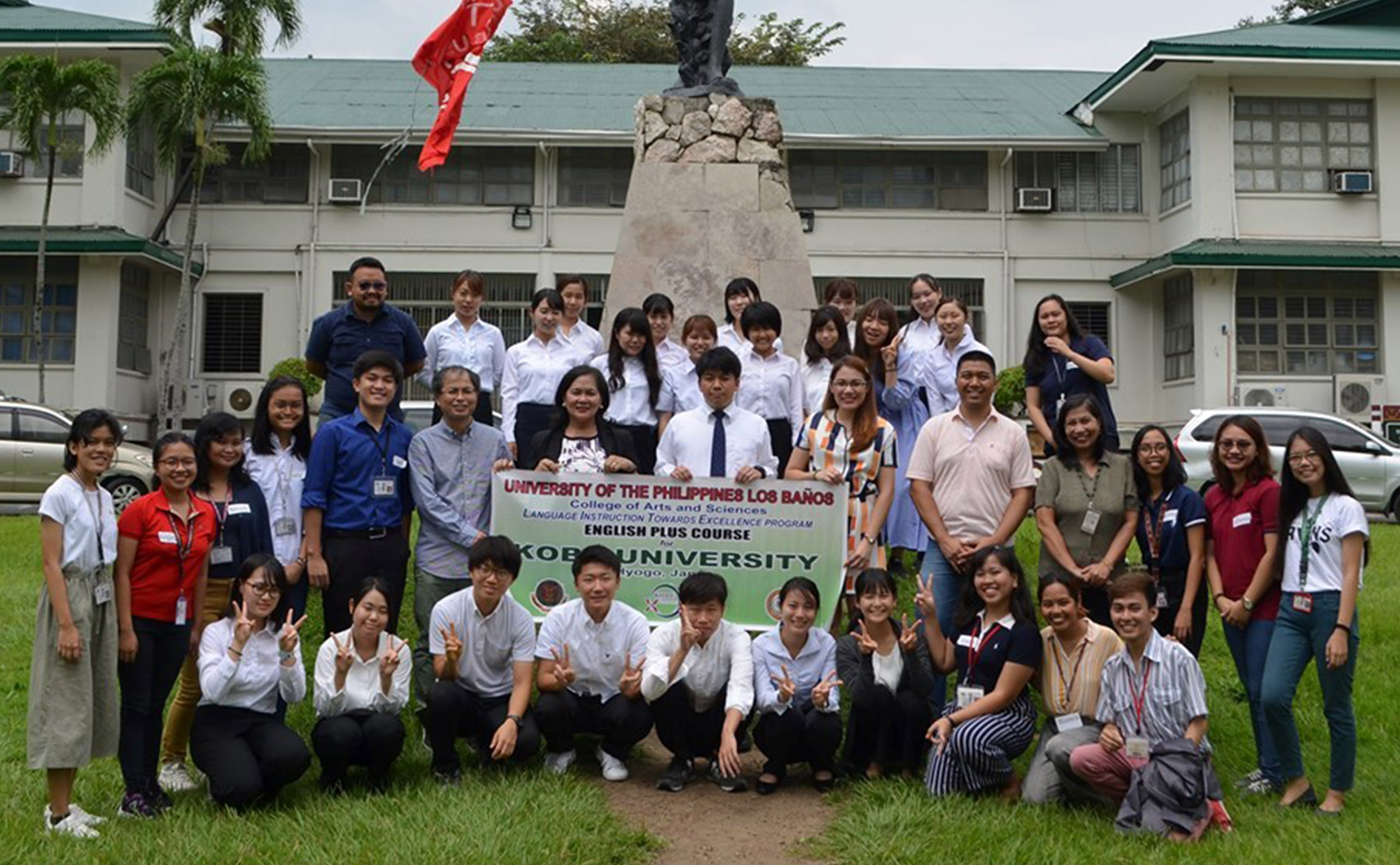 CAS-LITE Program mentors 35 Japanese students in English