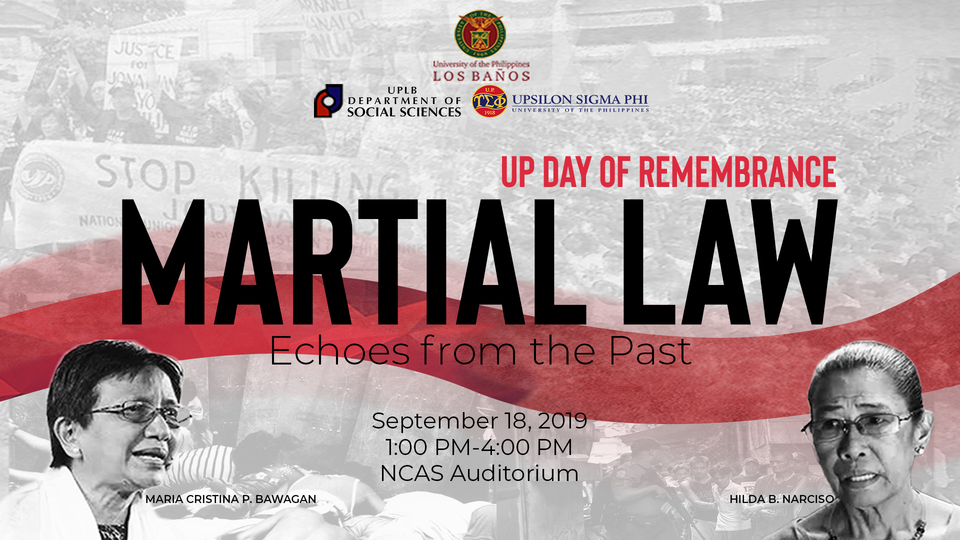 UPLB to celebrate UP Day of Remembrance
