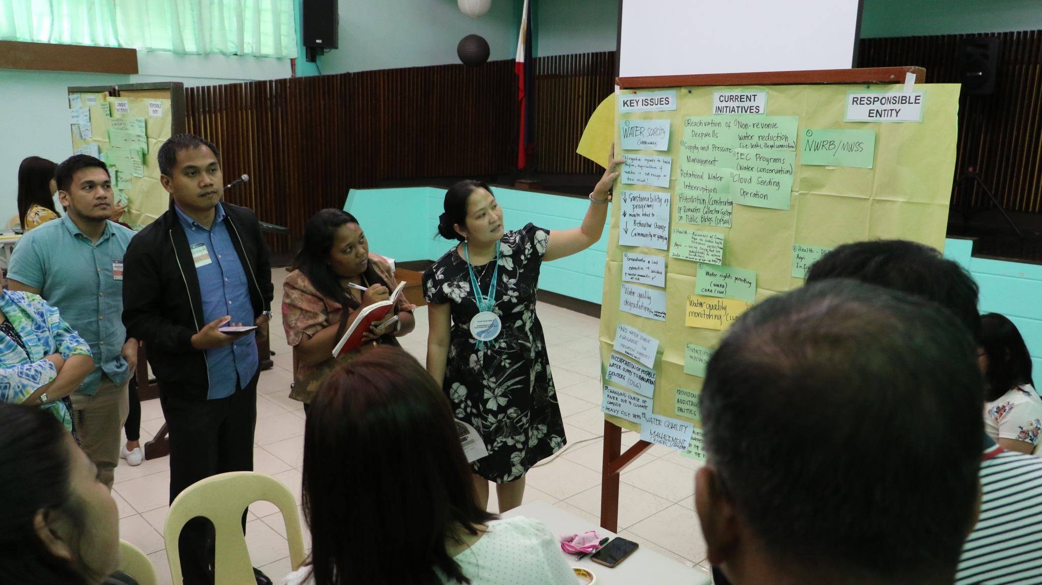 Latest water forum tackles disaster risk, climate change