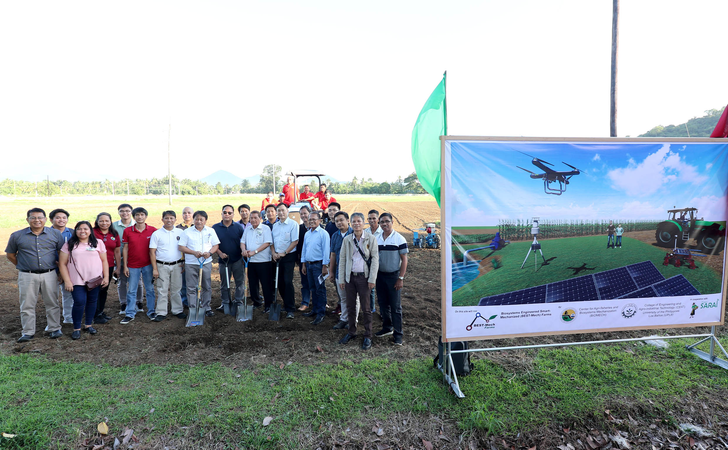 CEAT-BIOMECH aims for a smart farming facility
