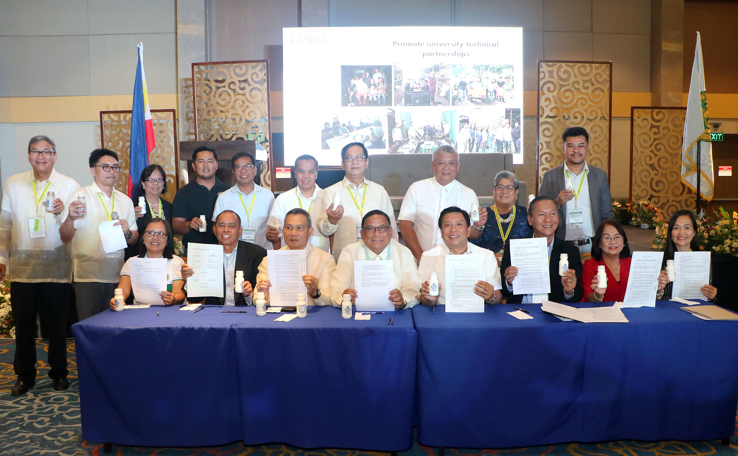 UPLB, partners formalize PH dairy consortium