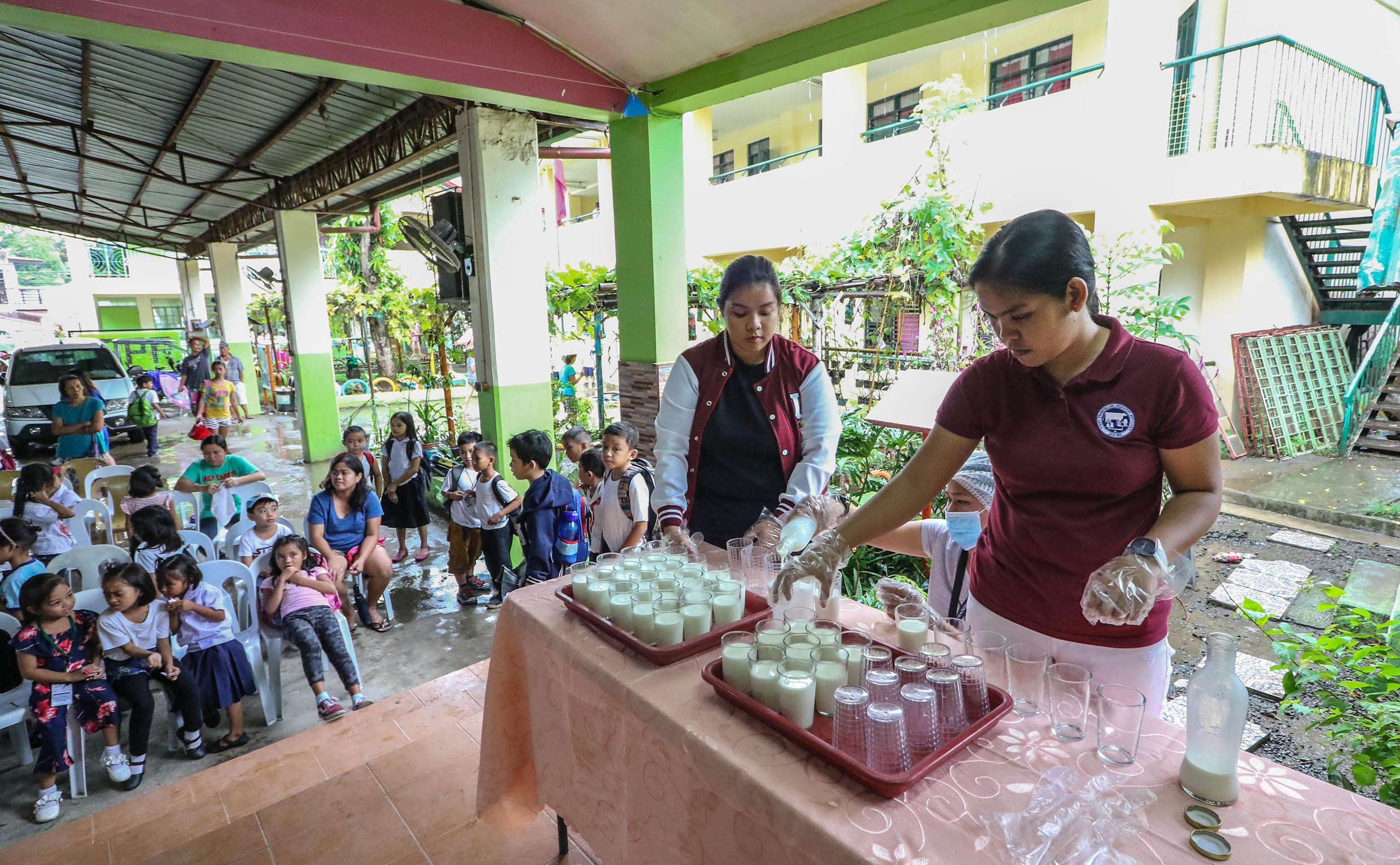DTRI initiates milk feeding program for LB pupils
