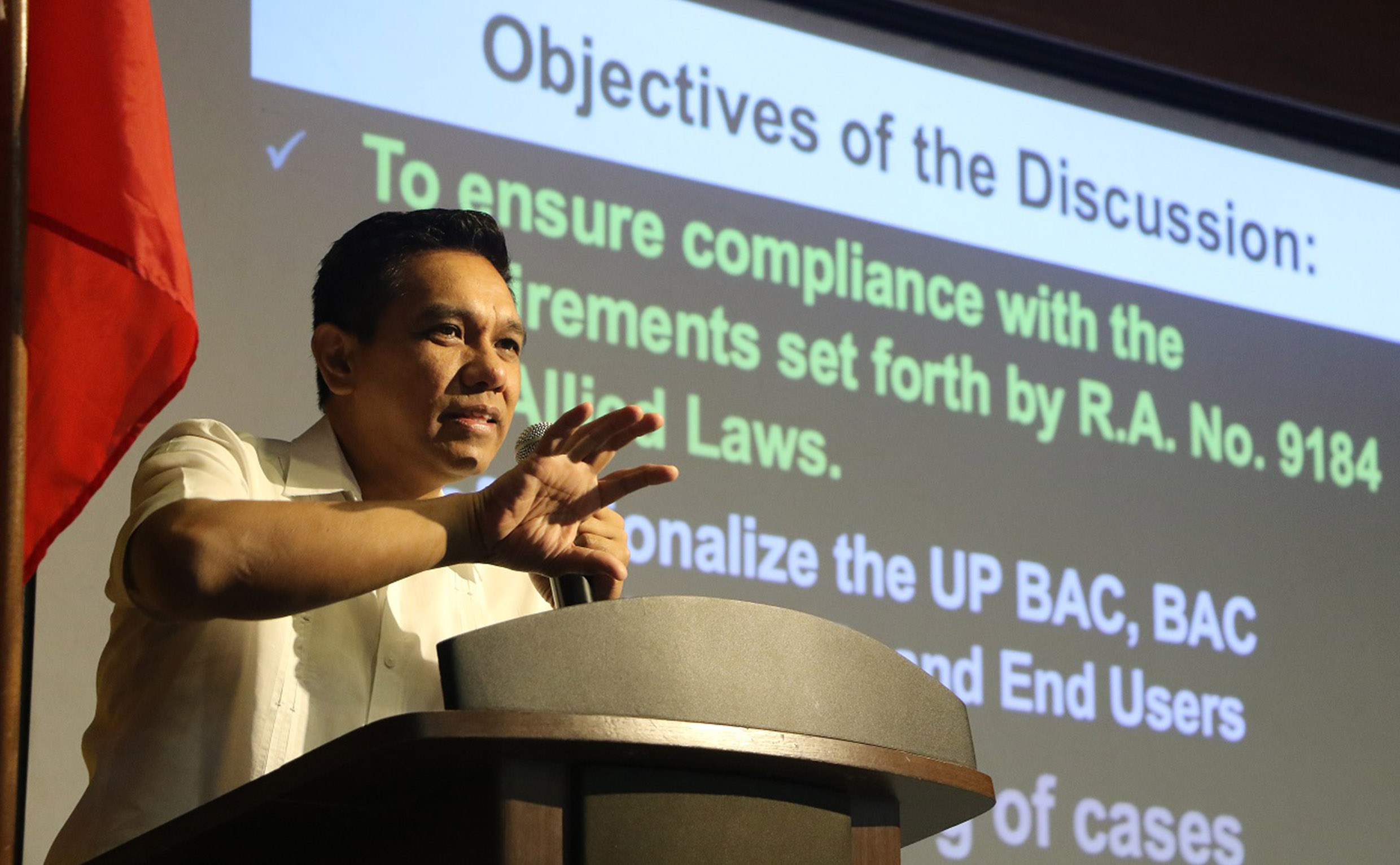 UPLB steps up training in procurement for BAC, TWG