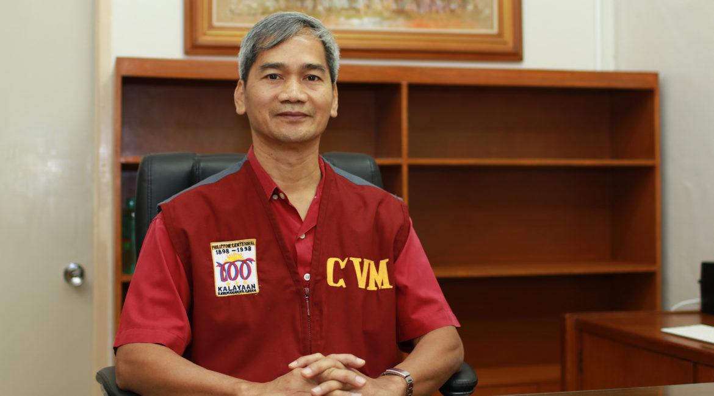Dr. Acorda is the new CVM dean