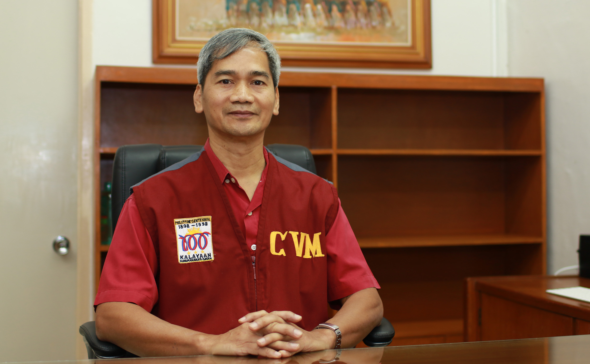 Dr. Acorda is the new CVM dean