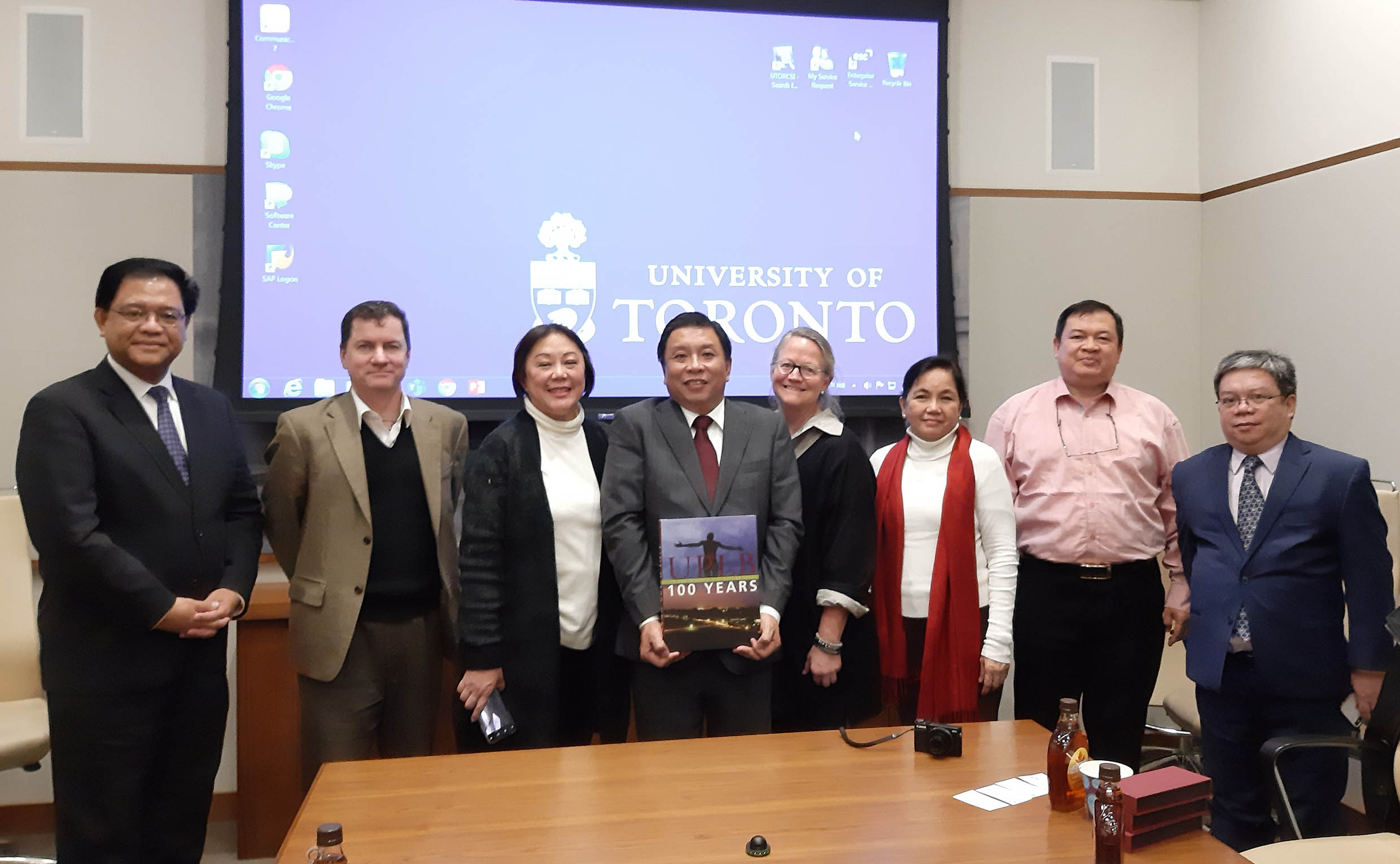 UPLB officials' visit to US, Canada yield academic & research collaborations