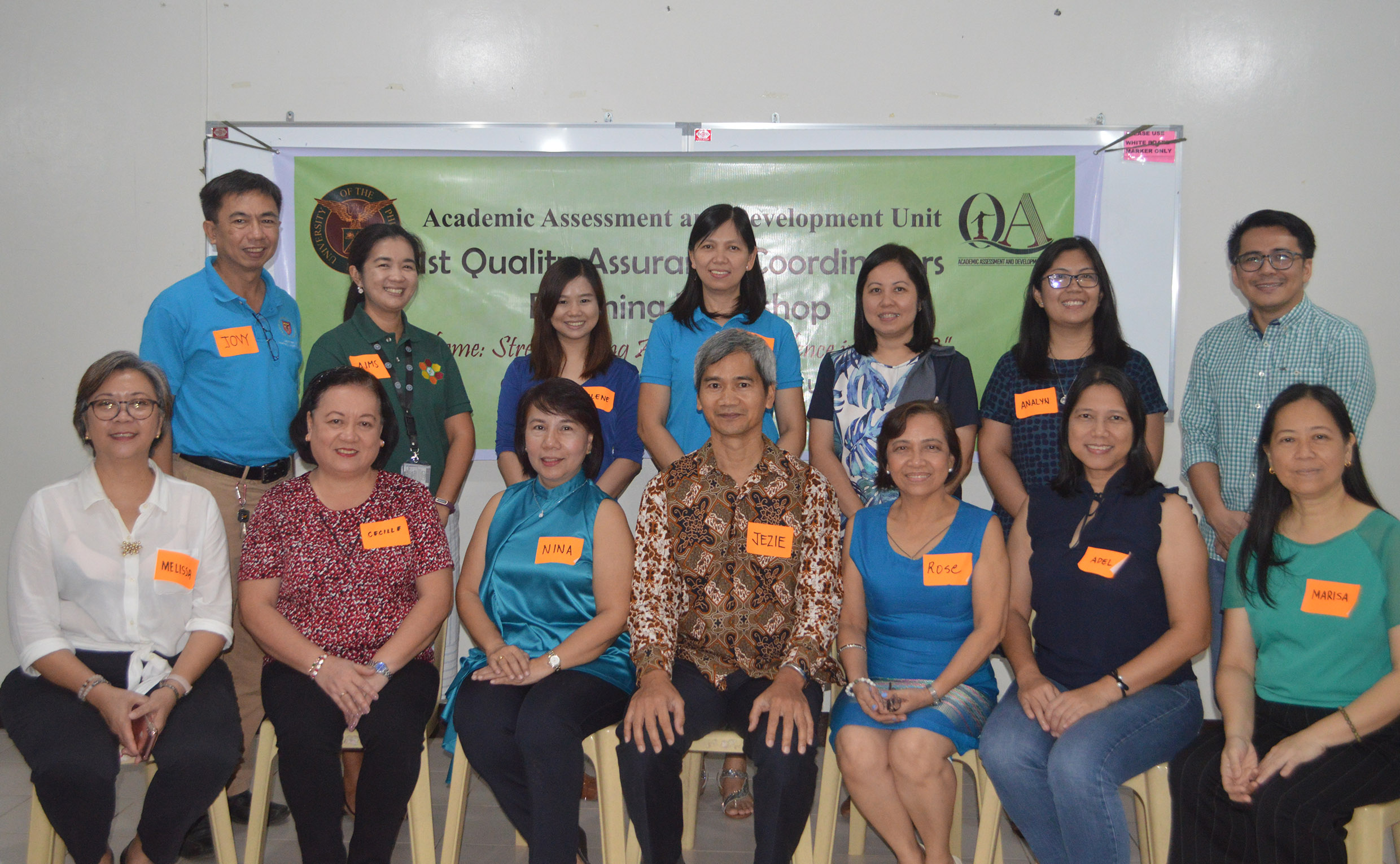 AADU makes roadmap for QA in UPLB