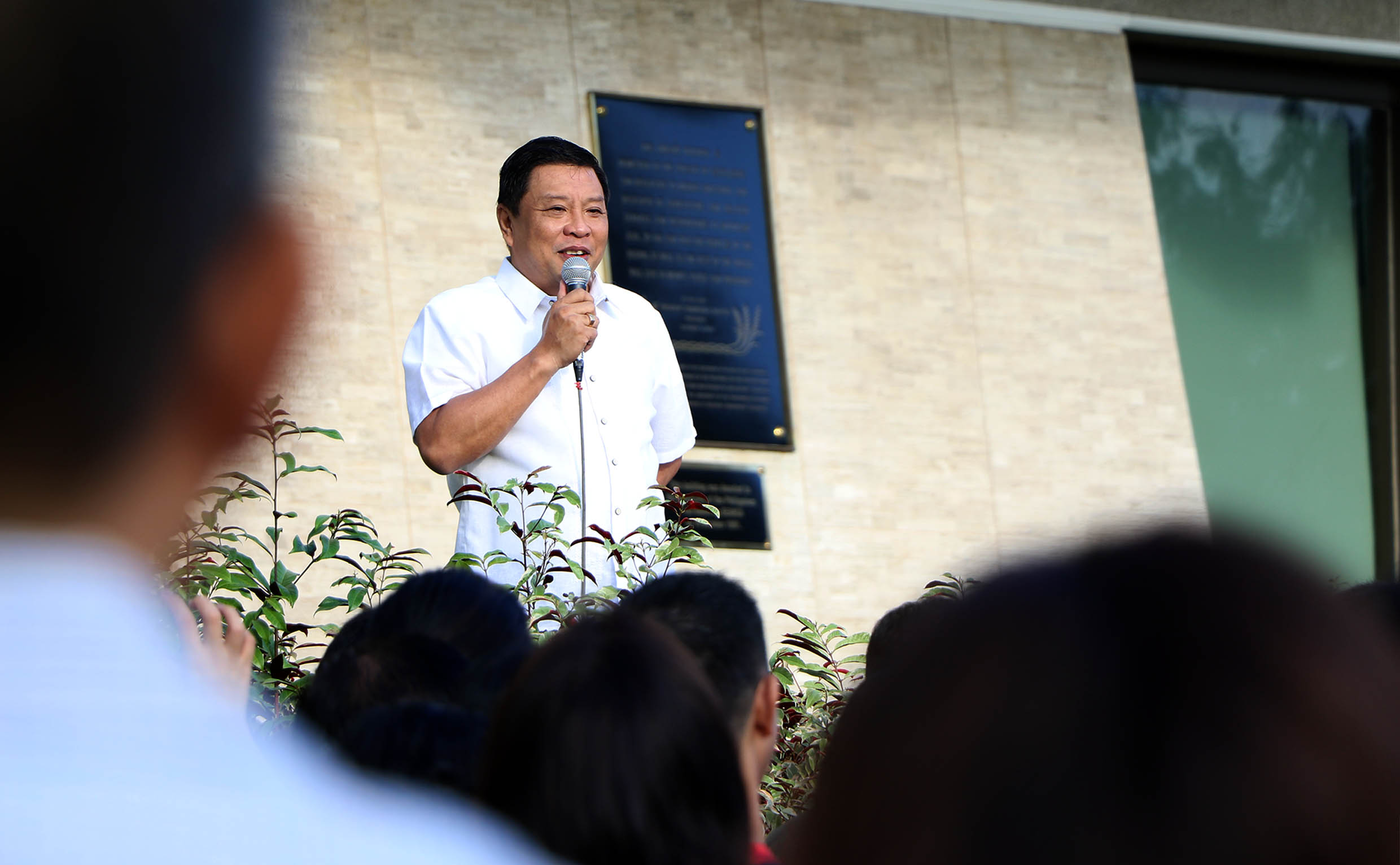 Chancellor Sanchez lauds teamwork for feats in 2019