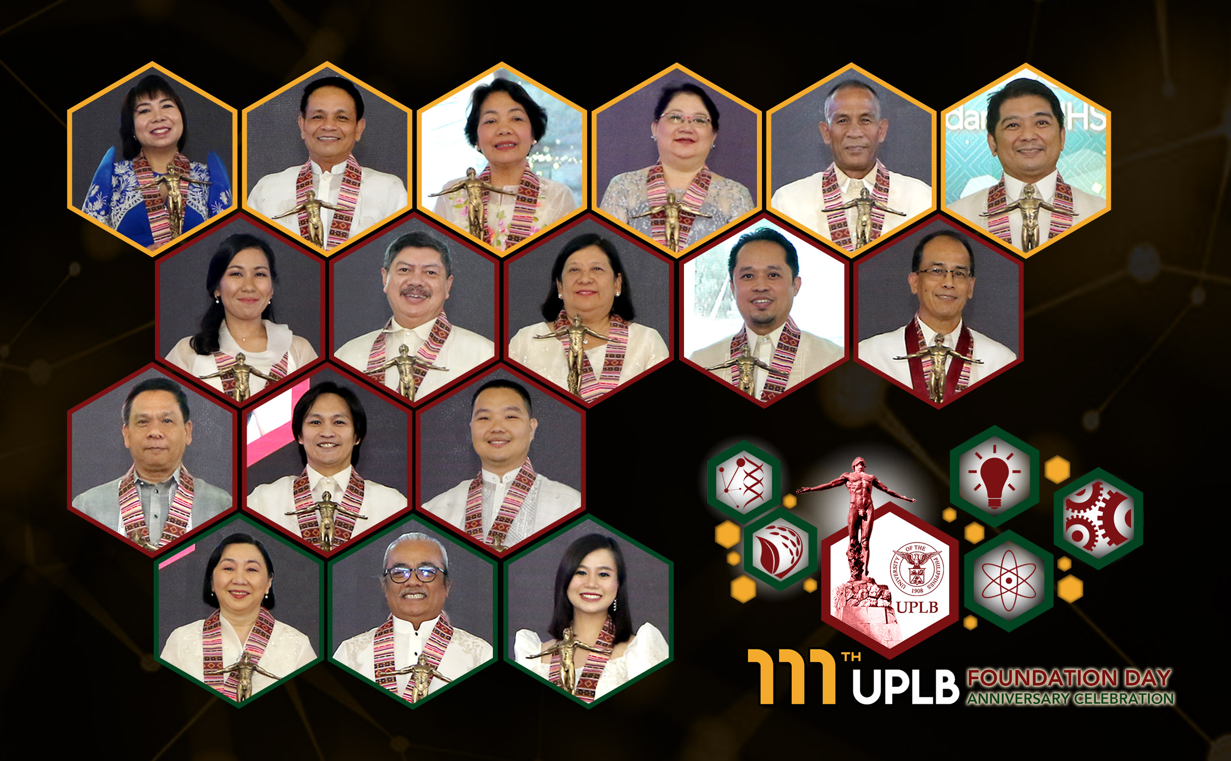 Outstanding personnel feted at 2020 UPLB Foundation Day