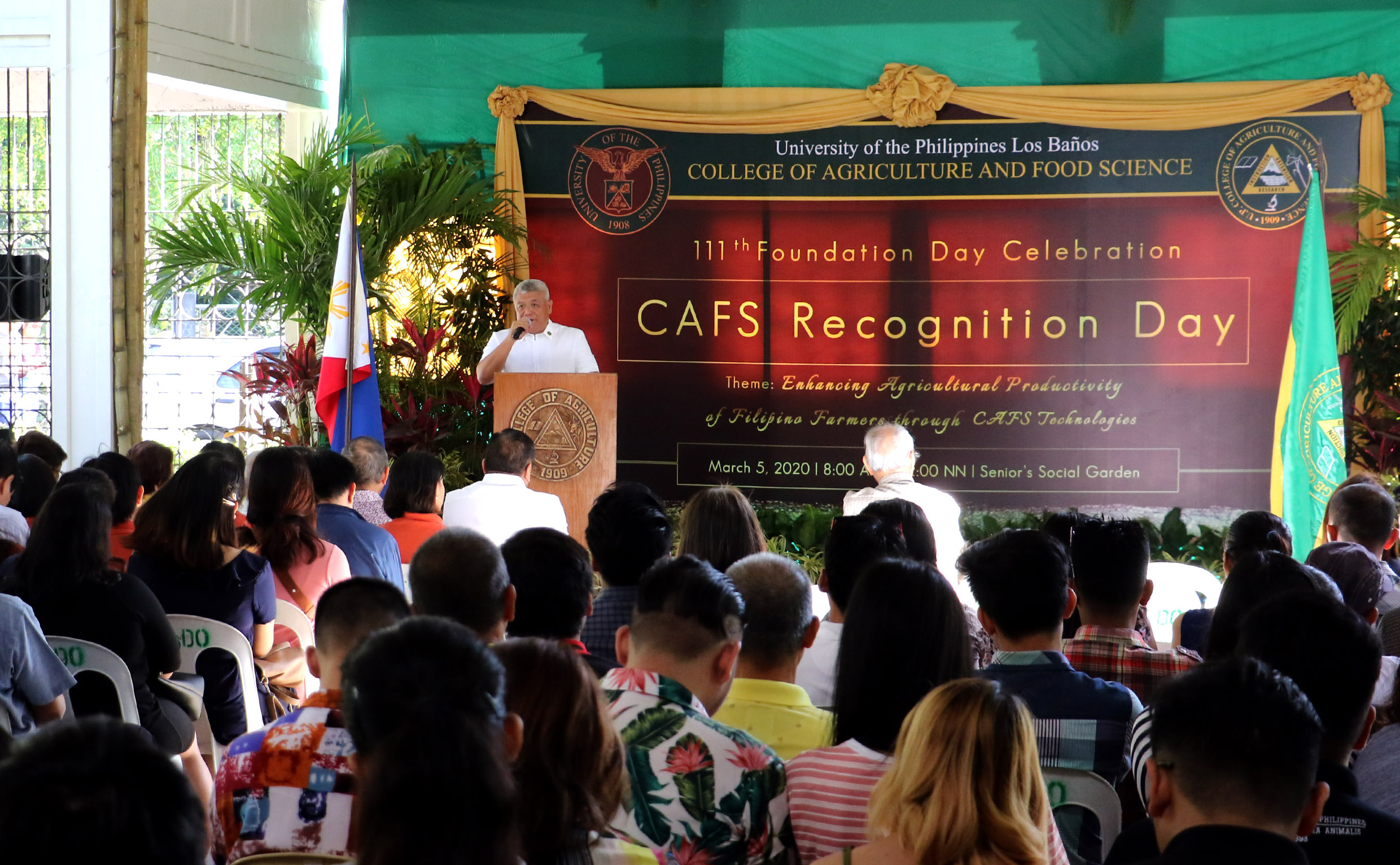 CAFS echoes roles in PH agri at 111th founding year