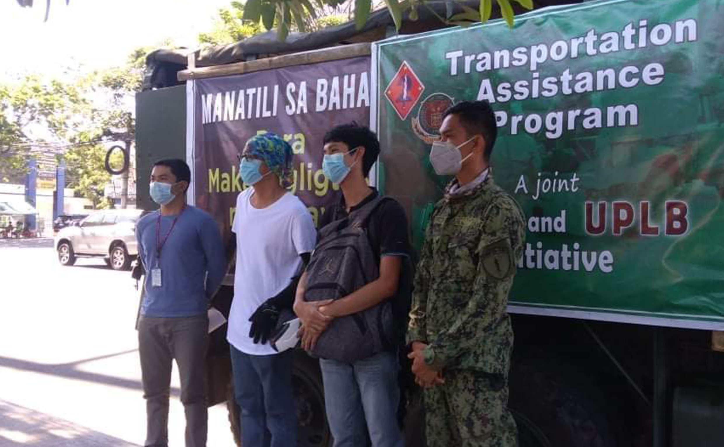 "Grateful UPLB students send messages of thanks to ""Oplan Hatid"""