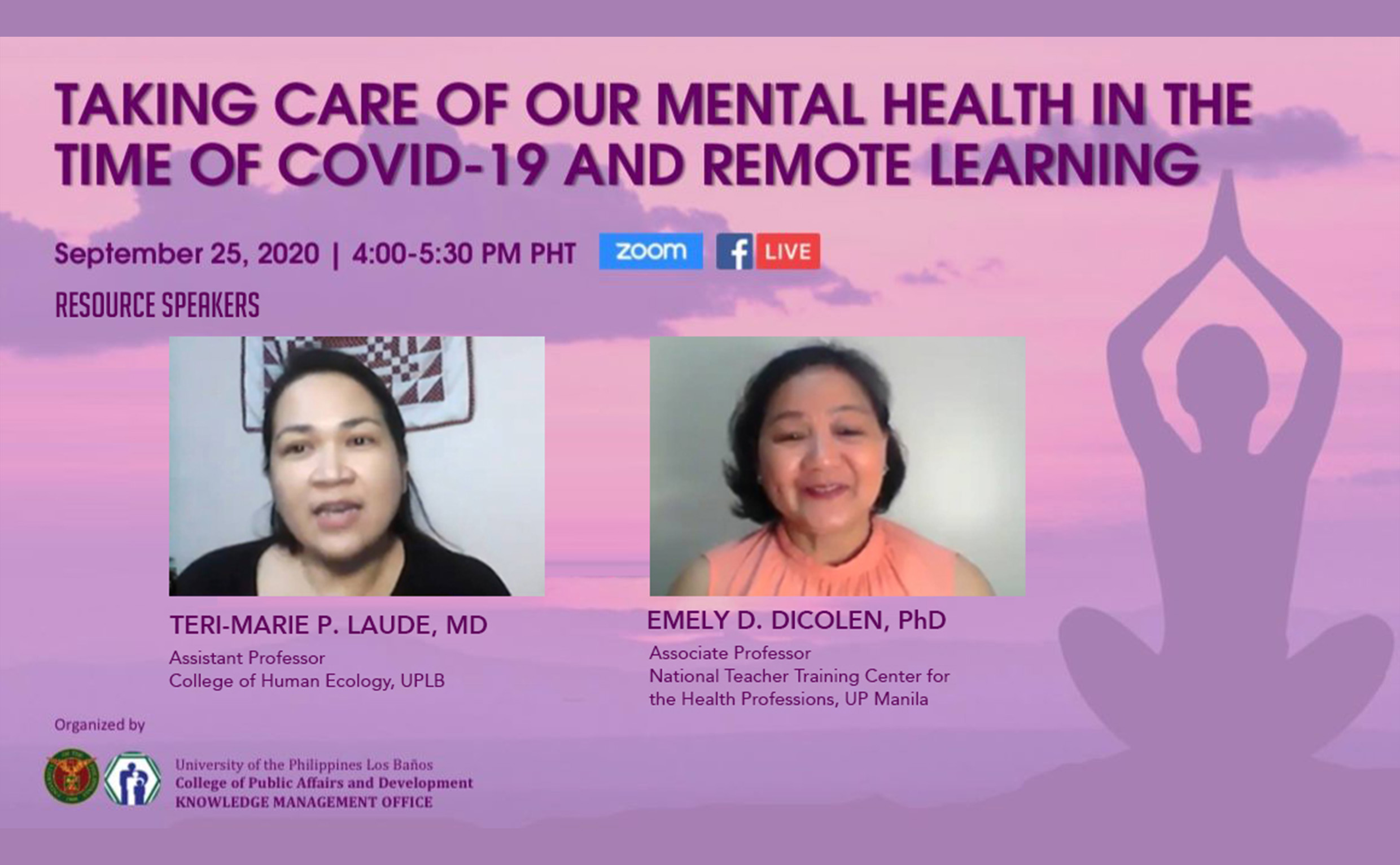 CPAf hosts webinar on mental health in the time of COVID-19