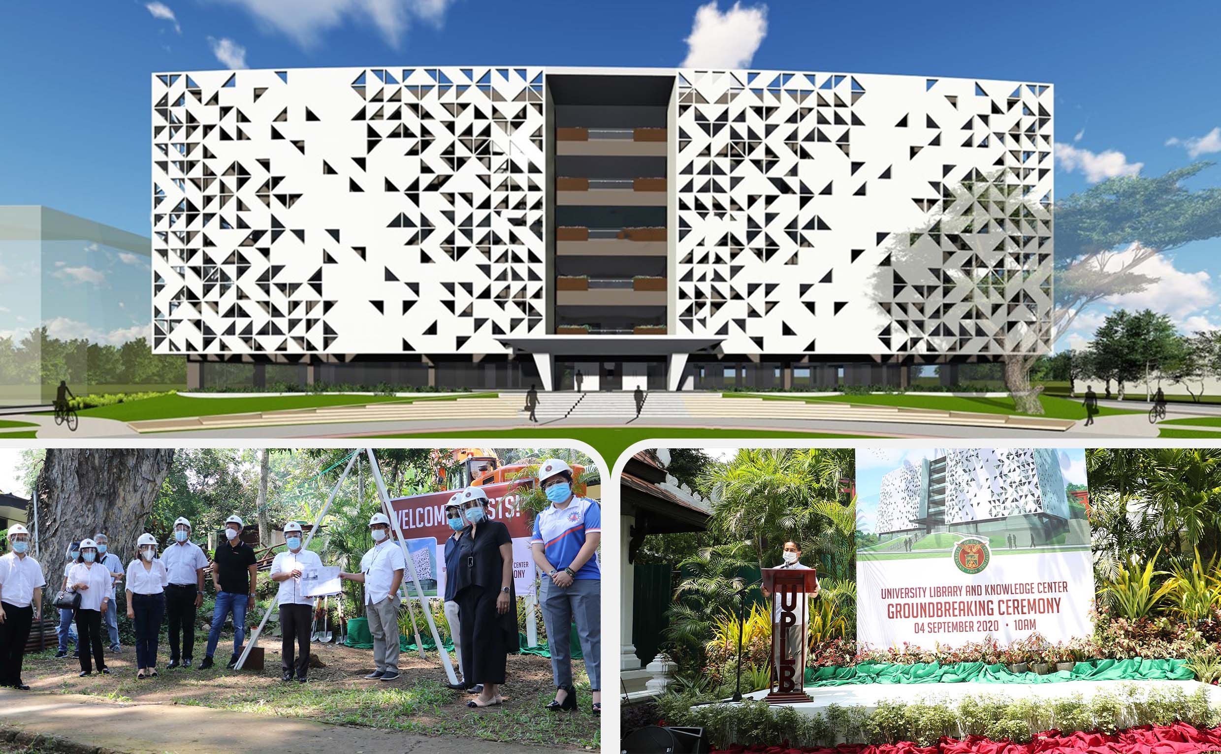 Univ Library and Knowledge Center to rise in UPLB
