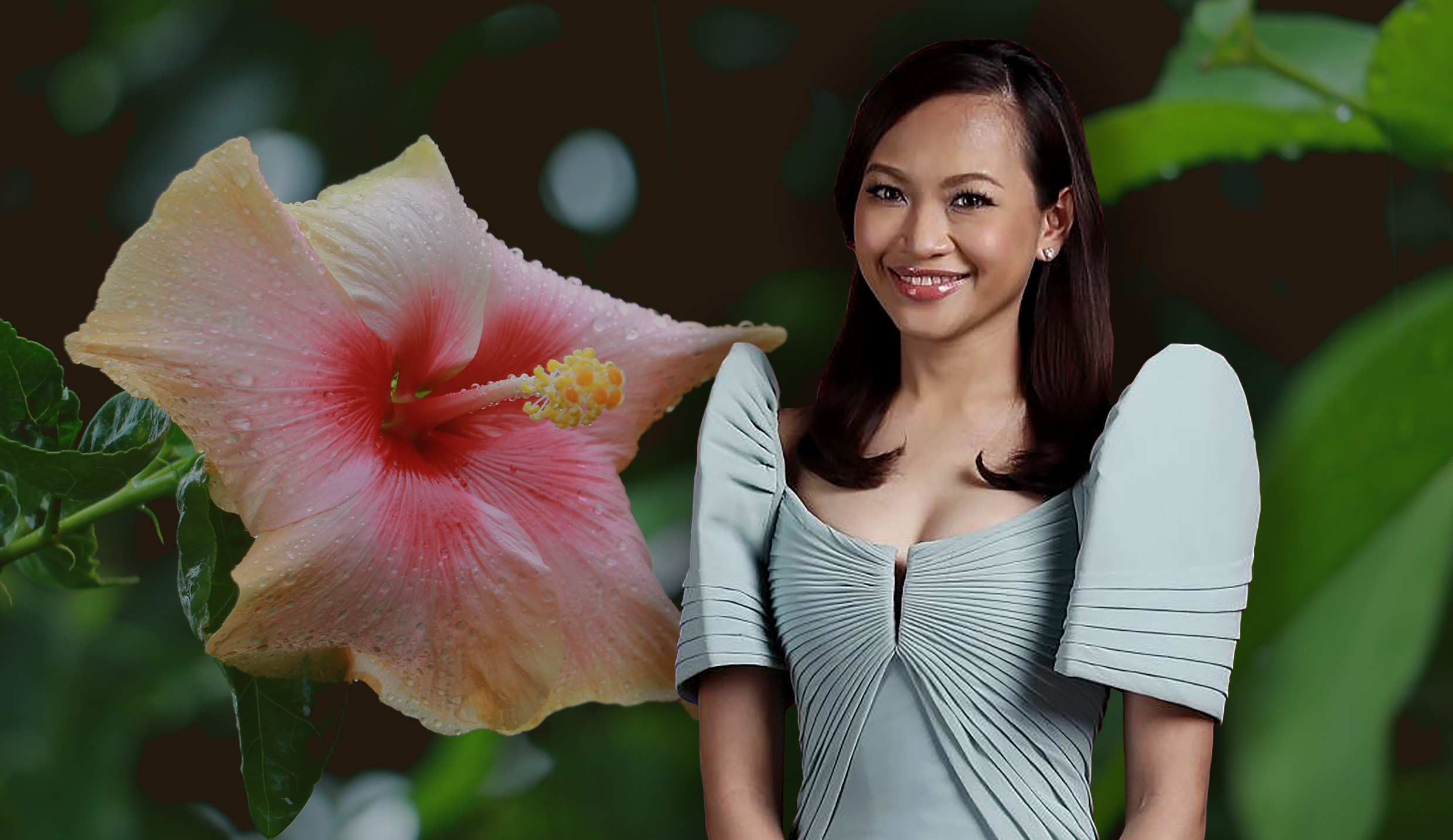 UPLB-bred hibiscus now bears the name of PH justice usec