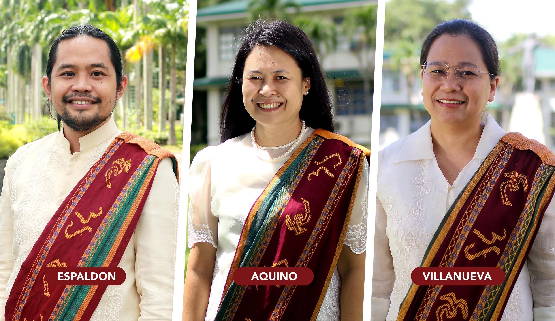 Meet the new heads of Pahinungod, BAO, UHO