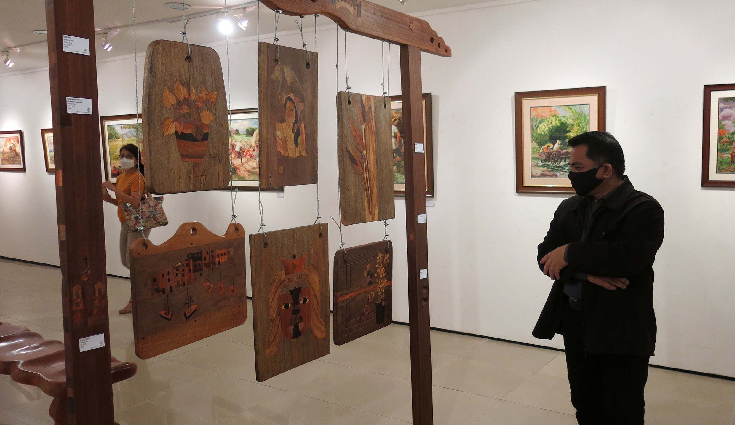 OICA launches cross-stitch and woodwork exhibit