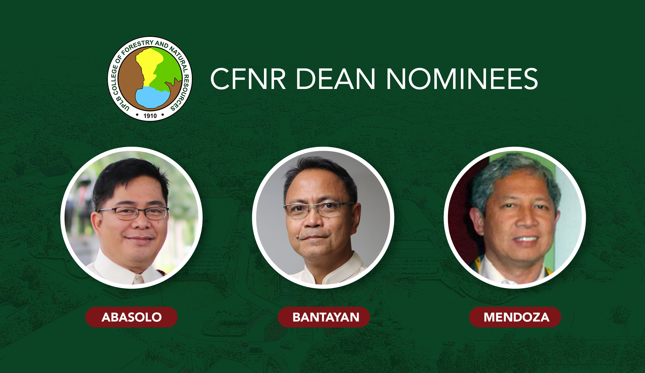 Search for next CFNR dean is on