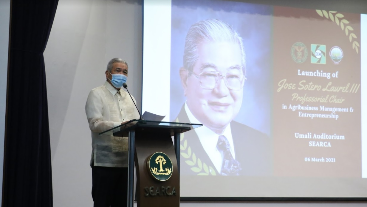 UPLB launches professorial chair for agribiz mgt and entrepreneurship