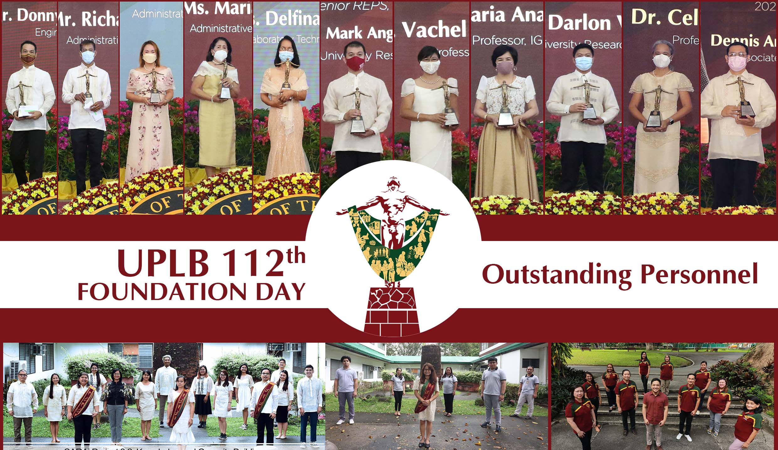 Outstanding personnel awarded at 112th Foundation Day anniv