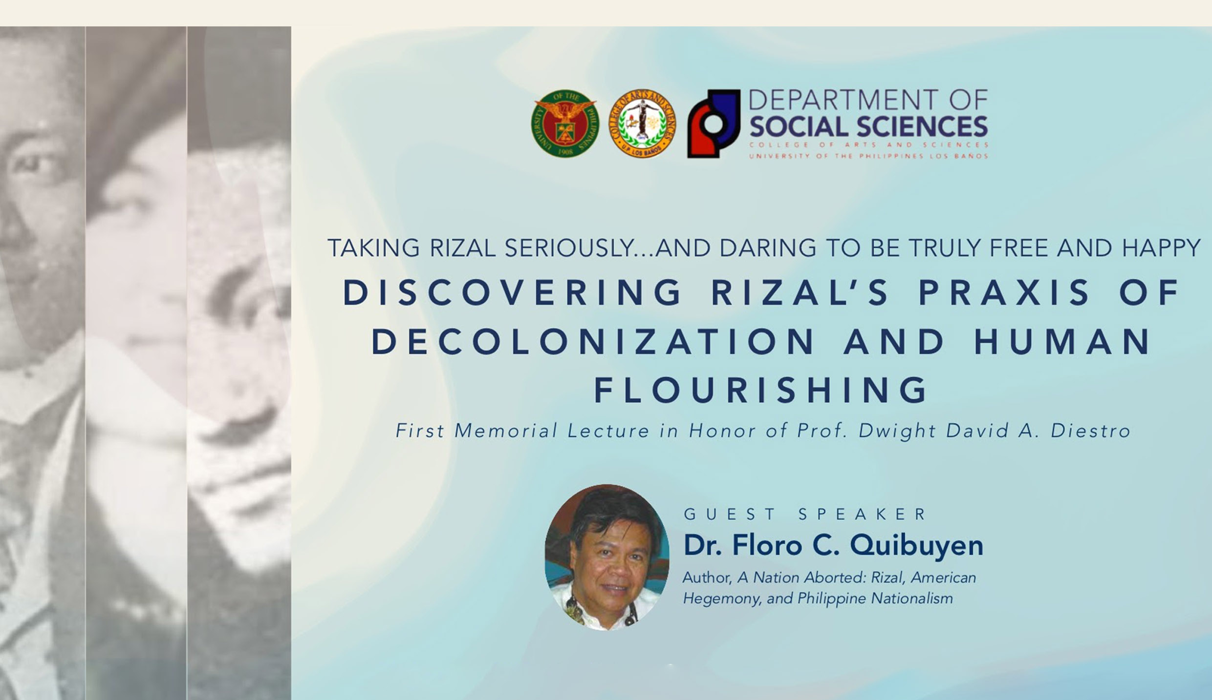 DSS holds first Dwight David A. Diestro annual lecture series