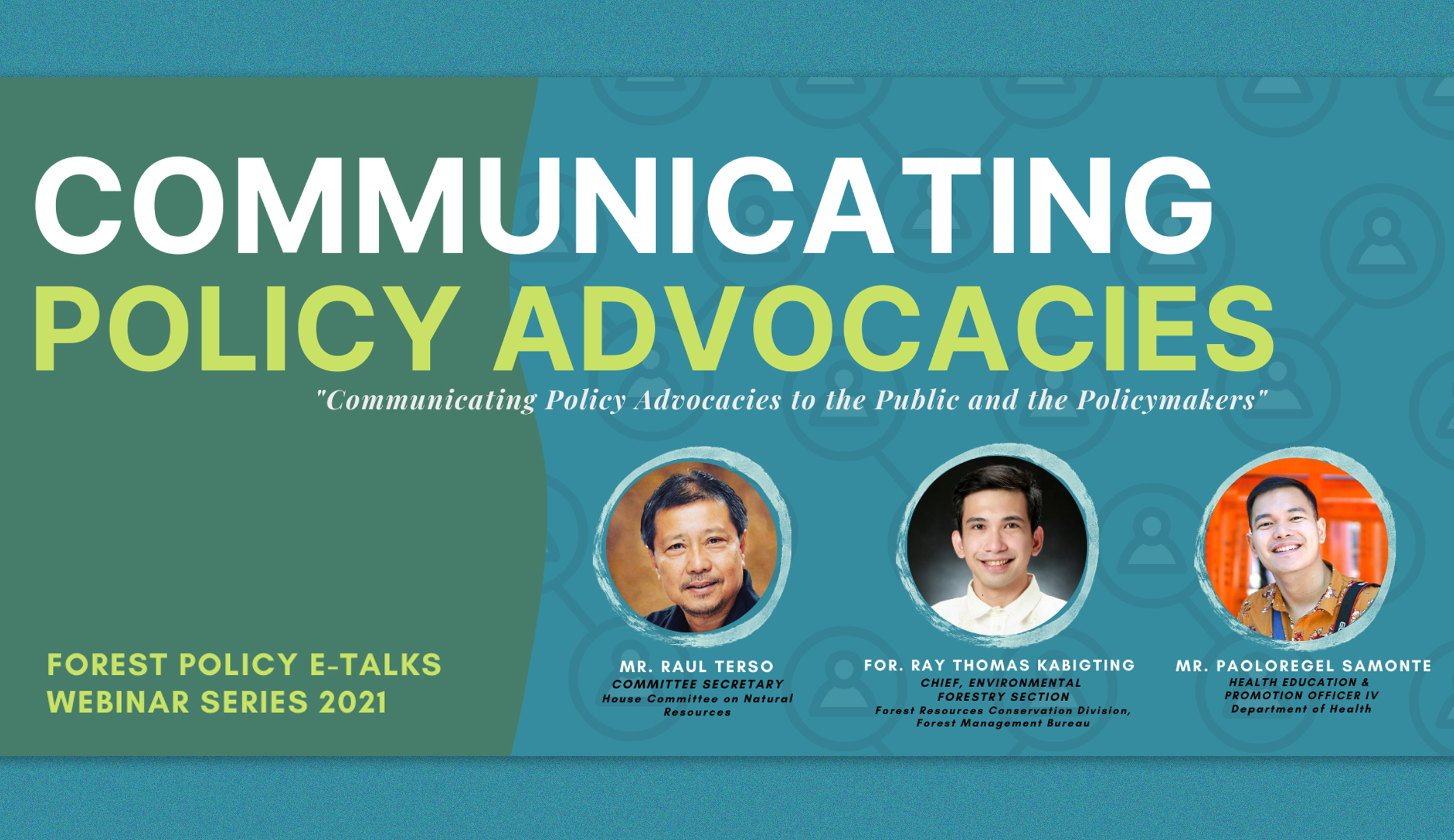 FDC tackles communicating policy advocacies in webinar