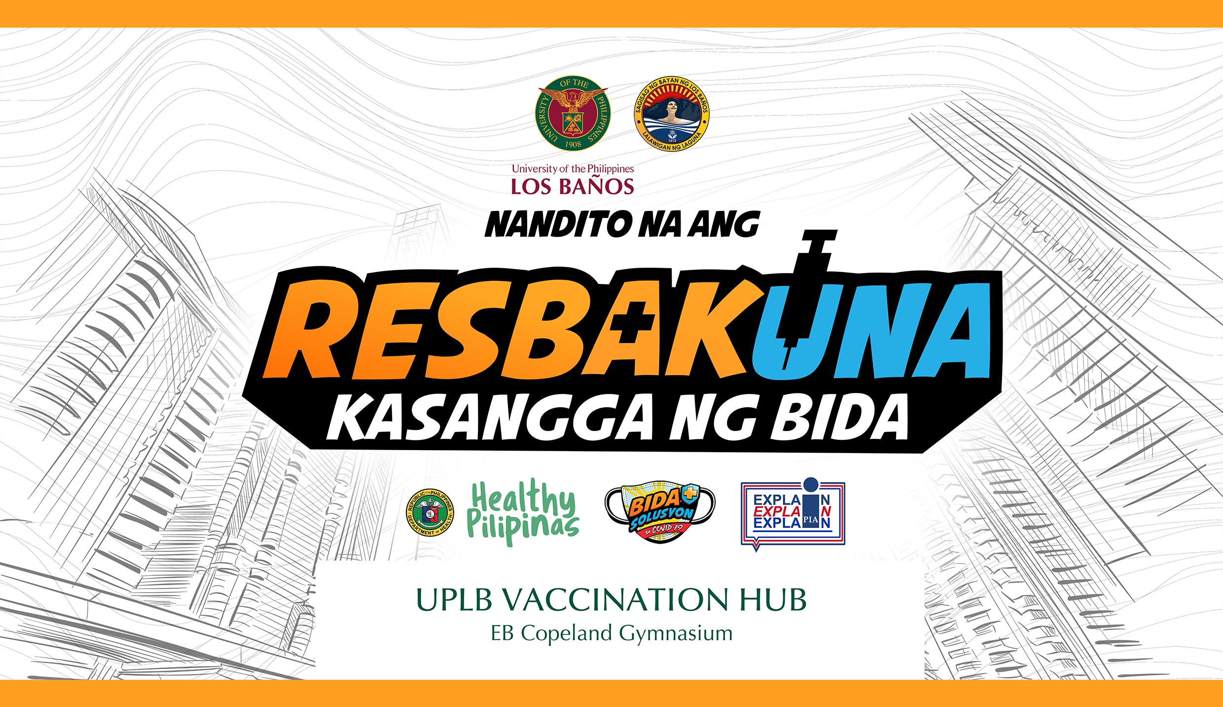 UPLB's Copeland Gym to be used as vaccination site