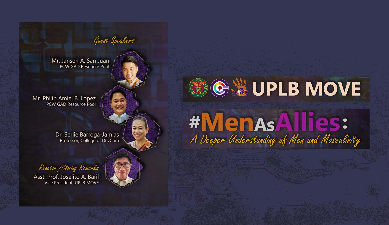 "UPLB MOVE shows how ""Men are Allies"" via online symposium"
