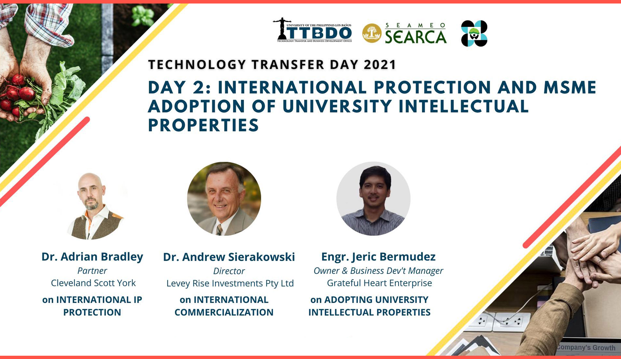 TTBDO highlights protection and adoption of intellectual properties
