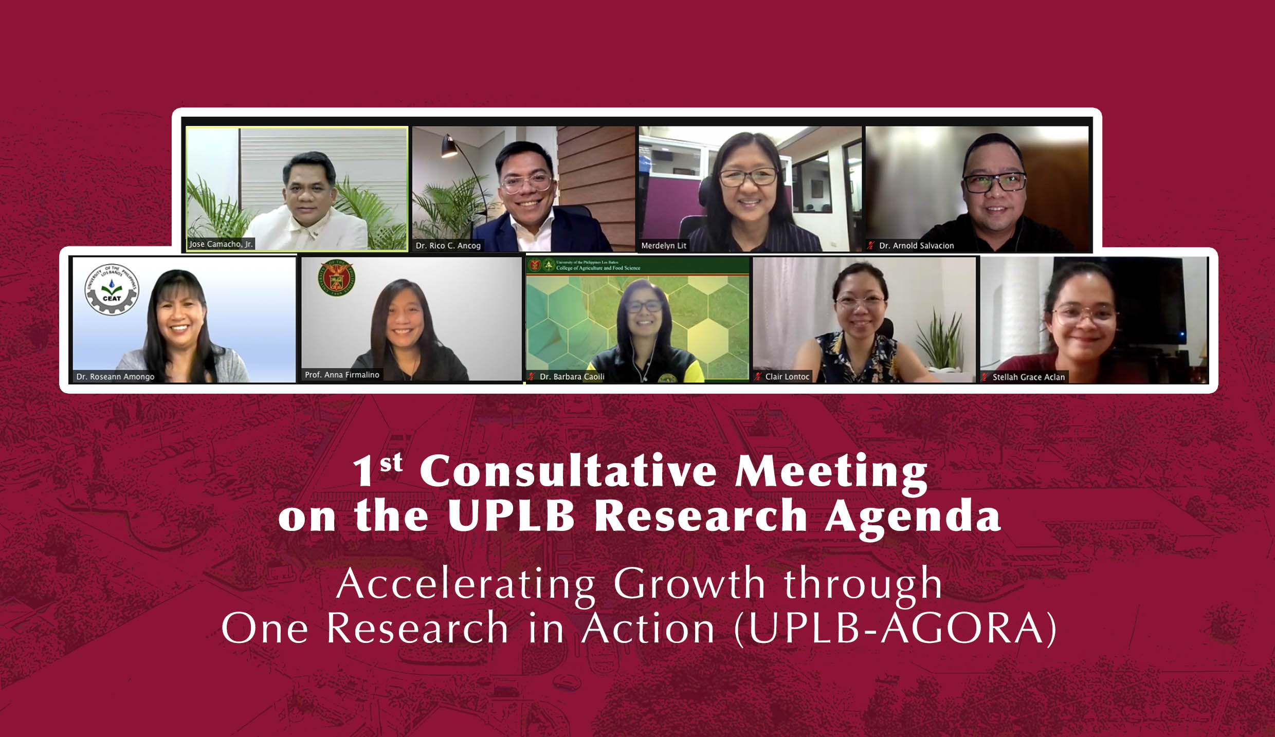 UPLB consults researchers on research agenda