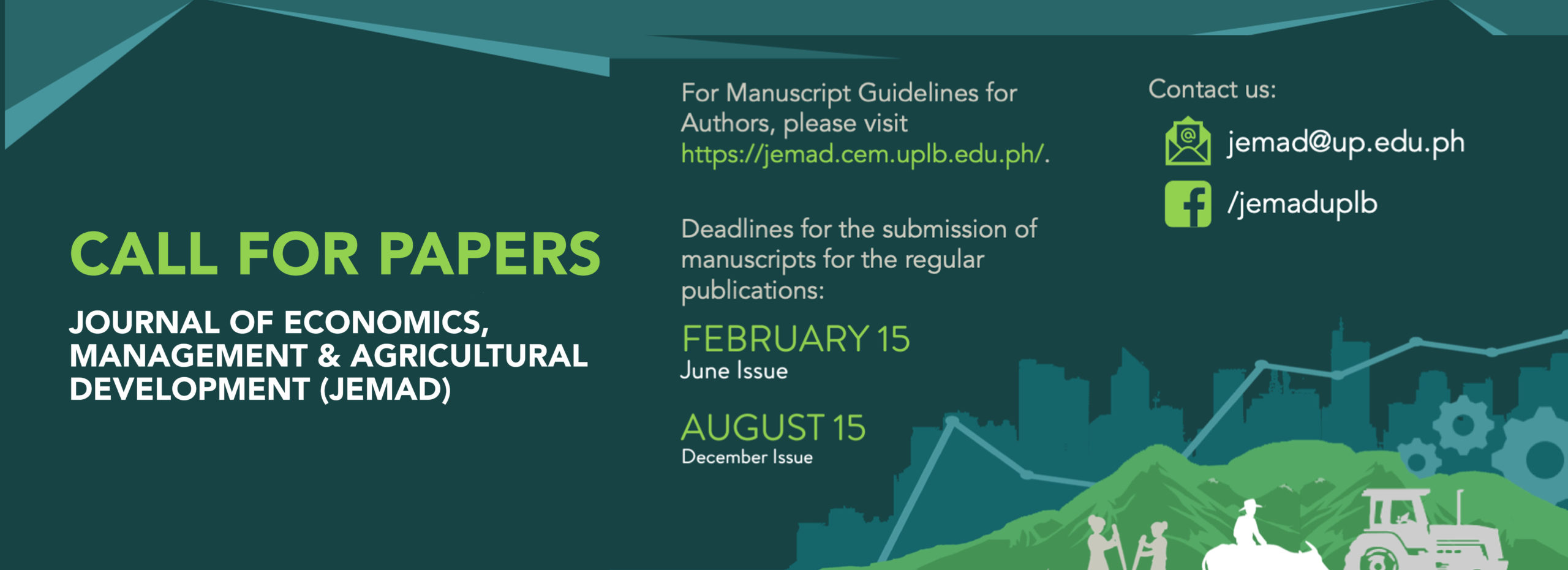 JEMAD: Call for Papers- December 2021 Issue