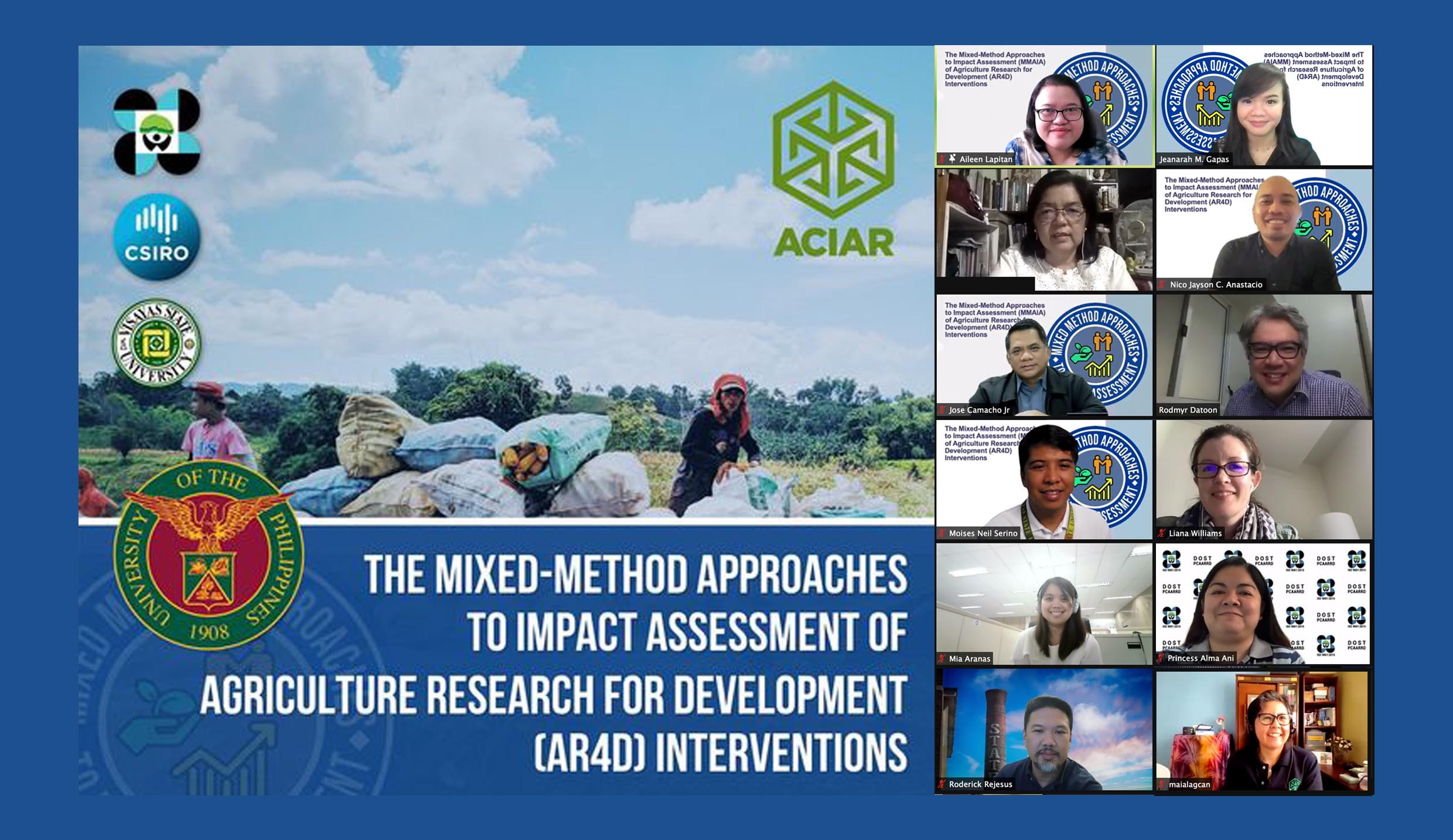 Experts share insights on the mixed method framework on impact assessment