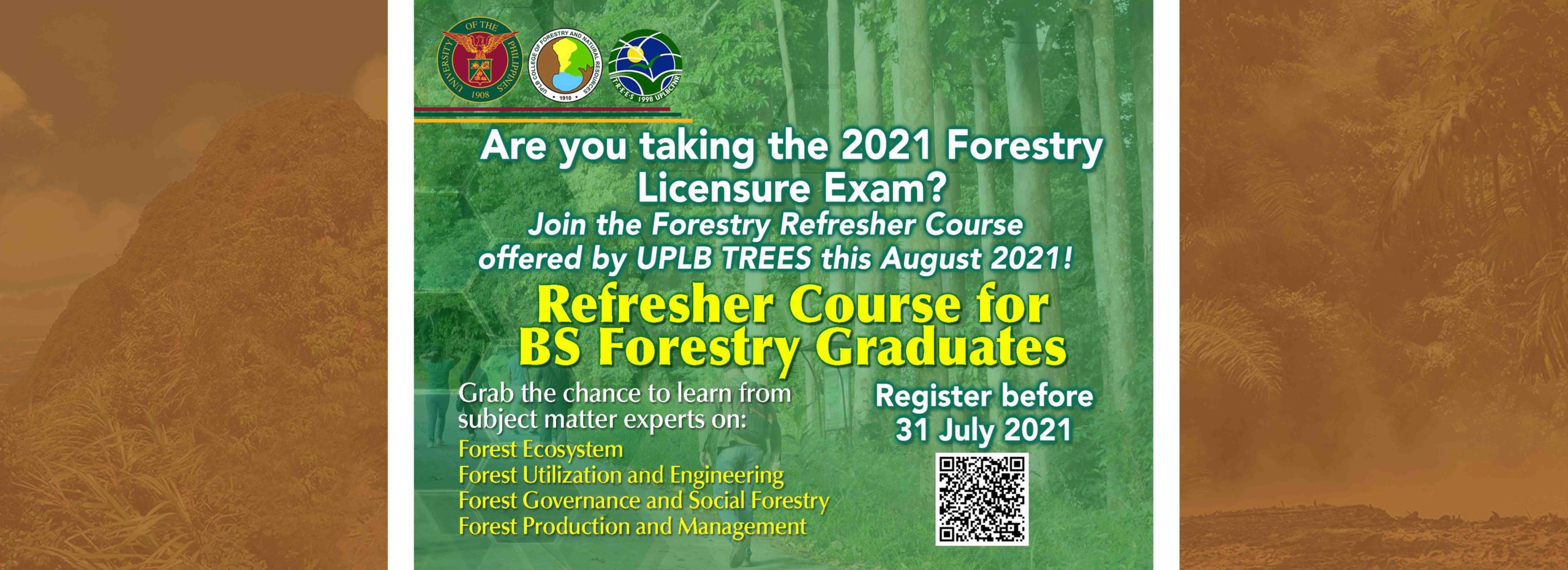 Refresher Course for BS Forestry Graduates