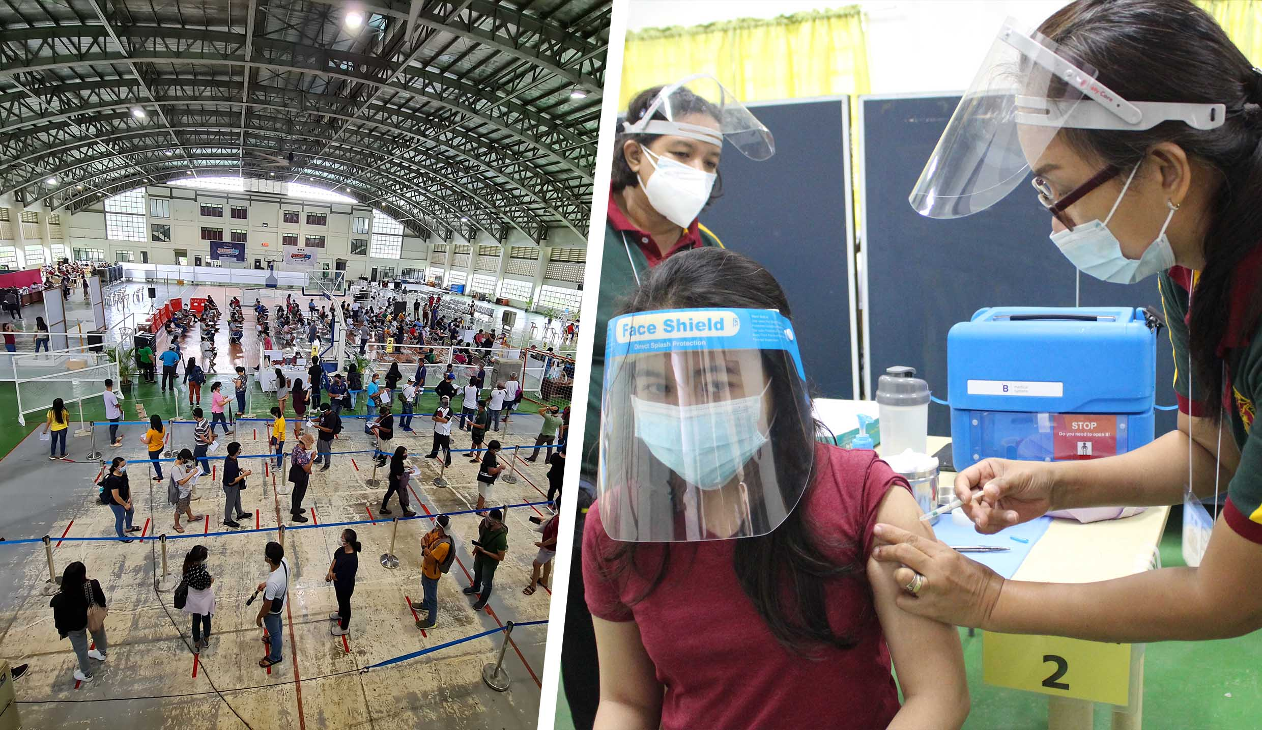 UPLB vaccine drive brings vaccinated personnel to 3,328