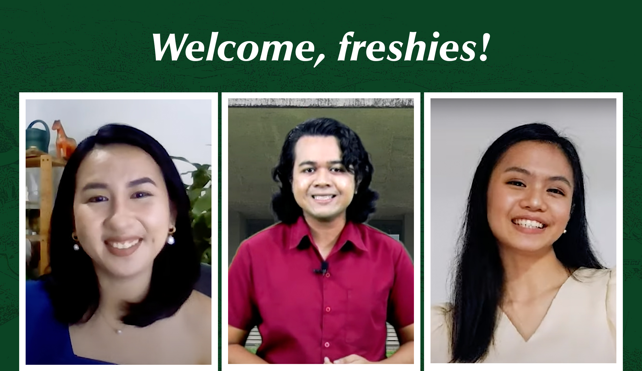 Community Pantry's Patreng Non joins UPLB in welcoming freshies