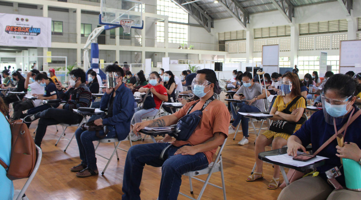 90% of UPLB personnel is now vaccinated