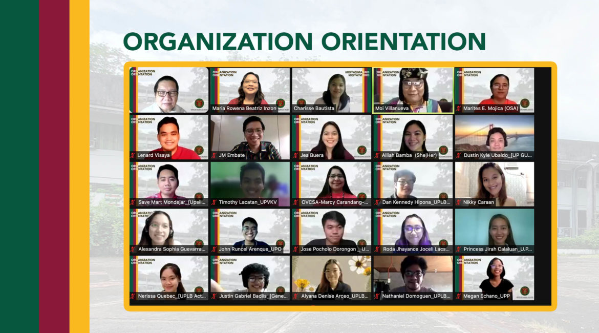 OSA holds orientation for student orgs