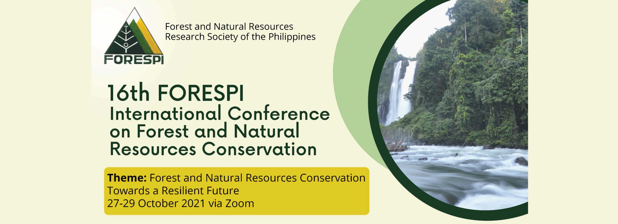 16th International Conference on Forest and Natural Resources Conservation
