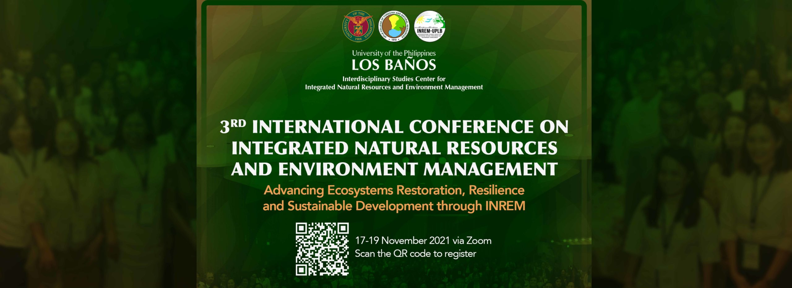 3rd International Conference on Integrated Natural Resources and Environment Management
