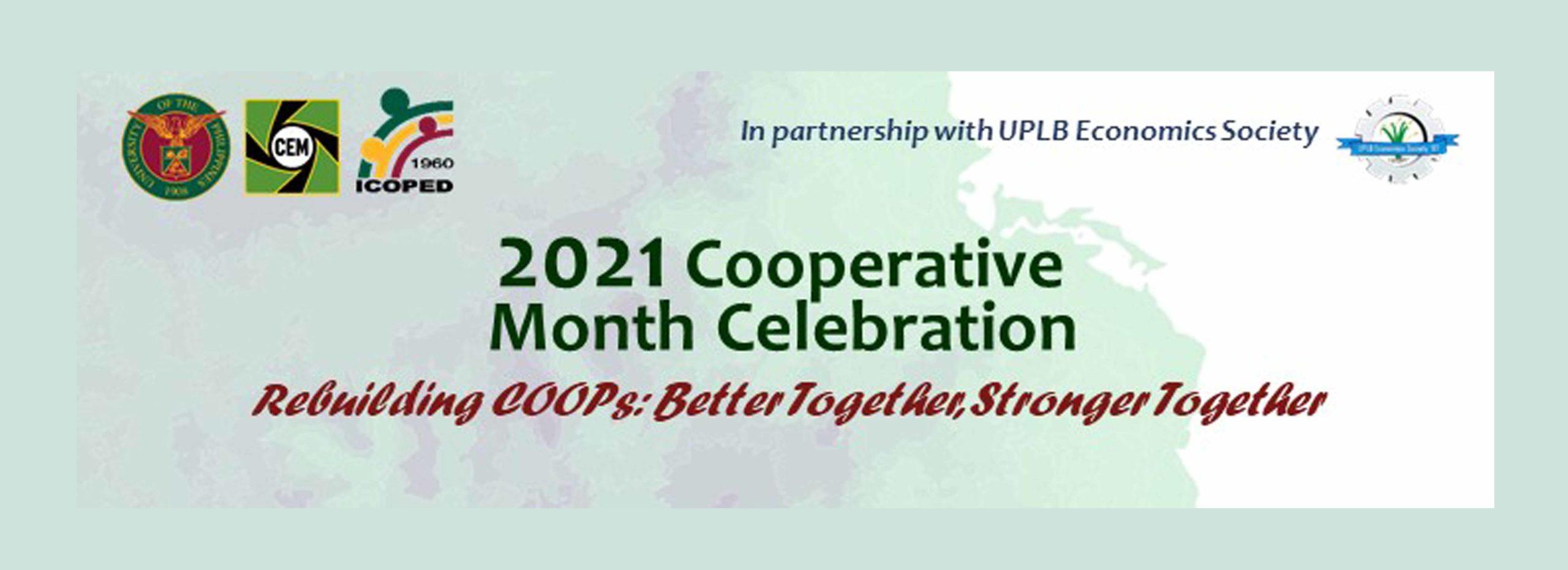 ICOPED 2021 Cooperative Month Celebration